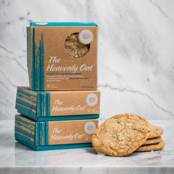 The Heavenly Oat - The holy trinity of chewy oatmeal, chocolate discs, and Bali Rama Sea Salt.