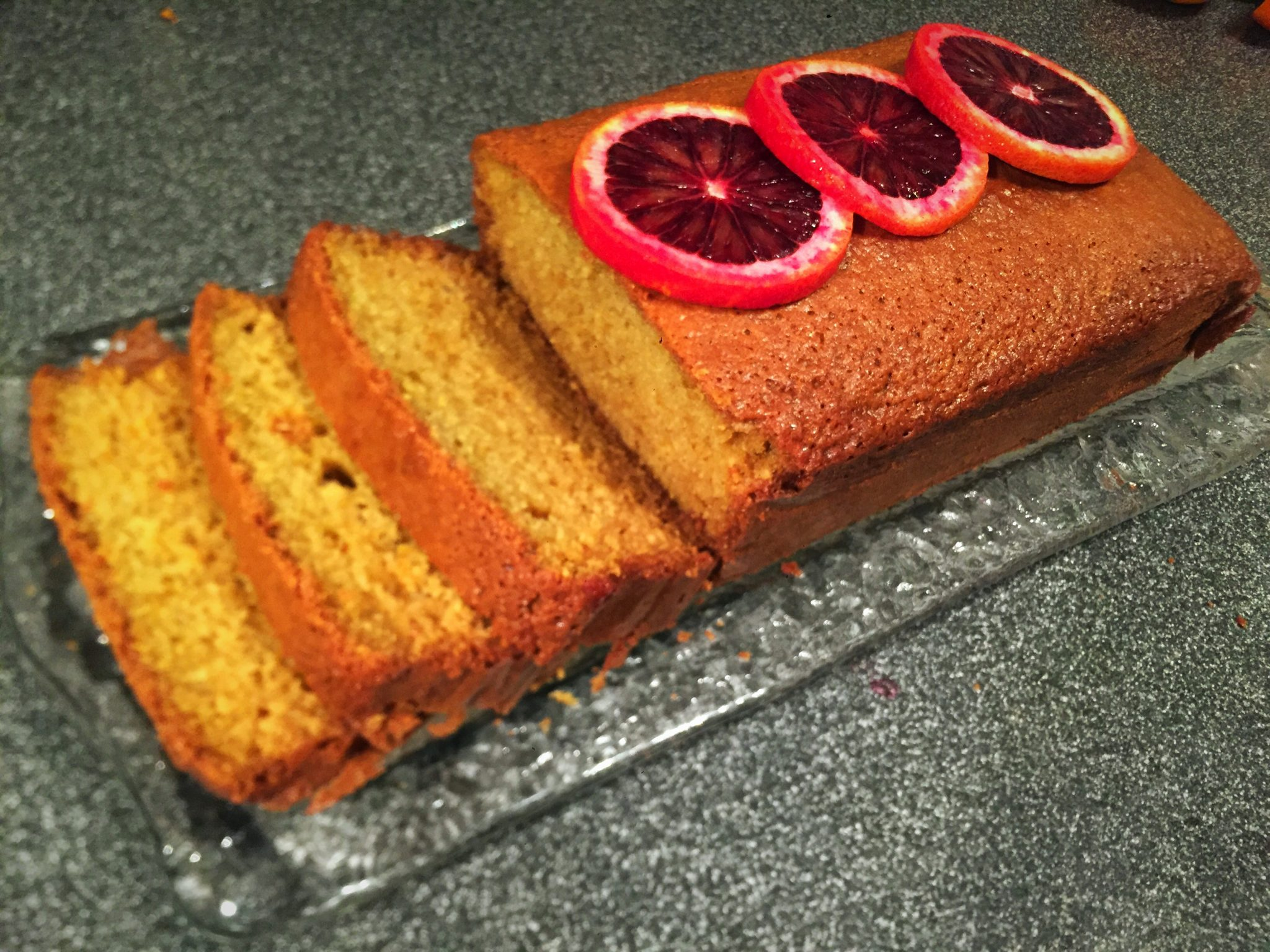 Blood Orange Olive Oil Loaf (or Ides of March Cake)
